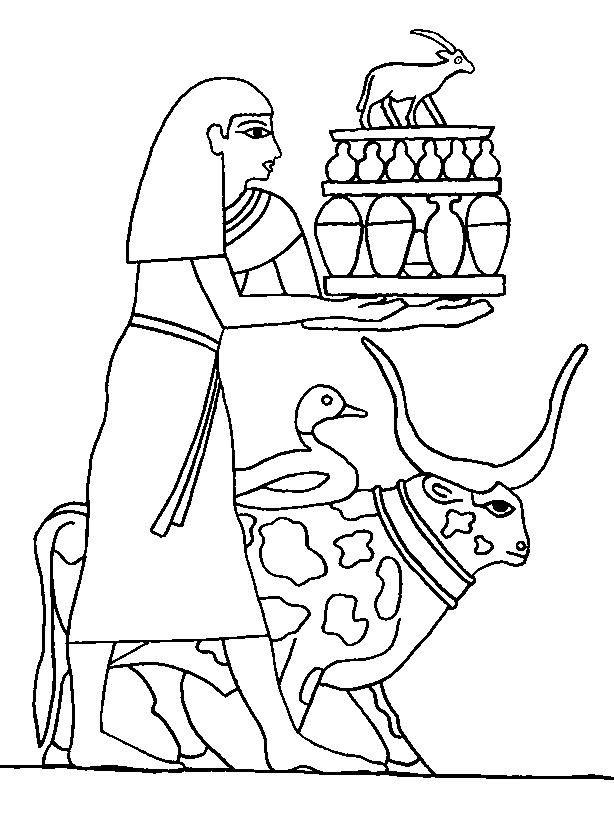 Ancient Egypt 5 Coloring Kids