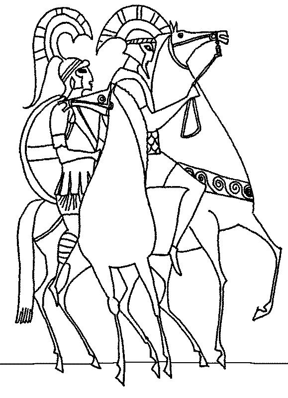 Ancient Greece 8 Coloring Kids