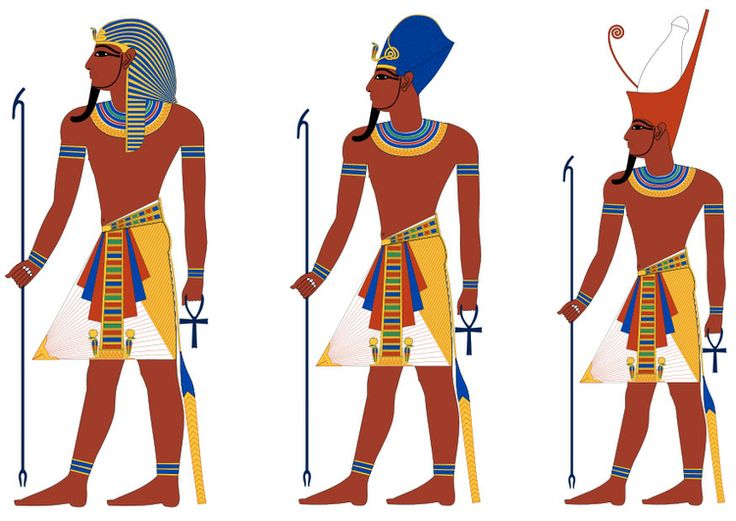 Ancient Egyptian Art Coloring Pages