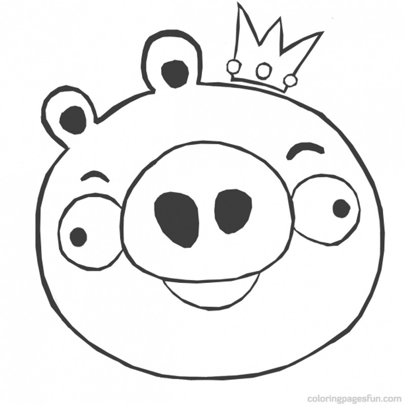 Angry Birds Coloring Pages 2