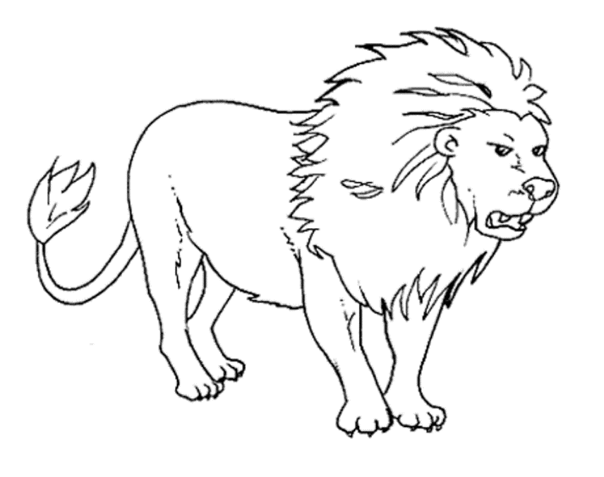 children coloring pages free animals - photo#23