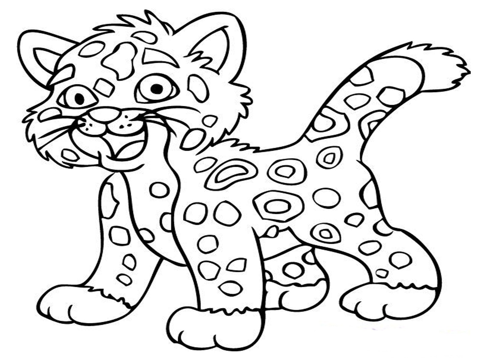 animals coloring pages - Animal Print Coloring Pages
