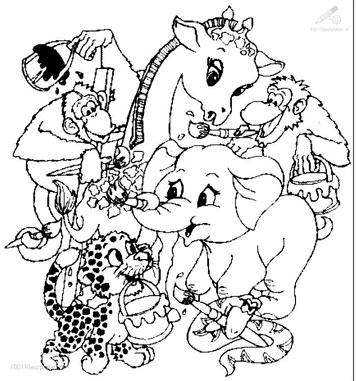 animals coloring pages - Animal Coloring Pages