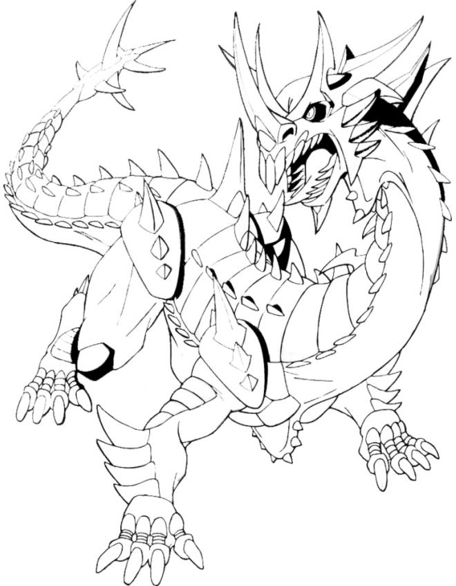 bakugan ingram coloring pages - photo#4