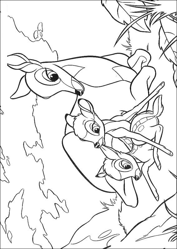 Bambi Coloring Pages | Coloring Kids