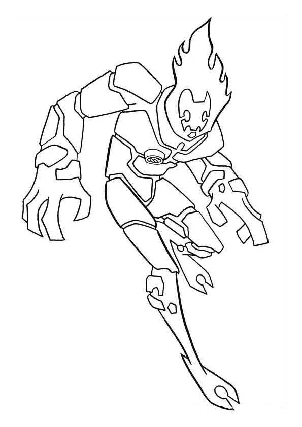 Ben 10 Coloring Pages  Coloring Kids