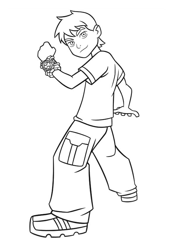 ben coloring pages - photo#7