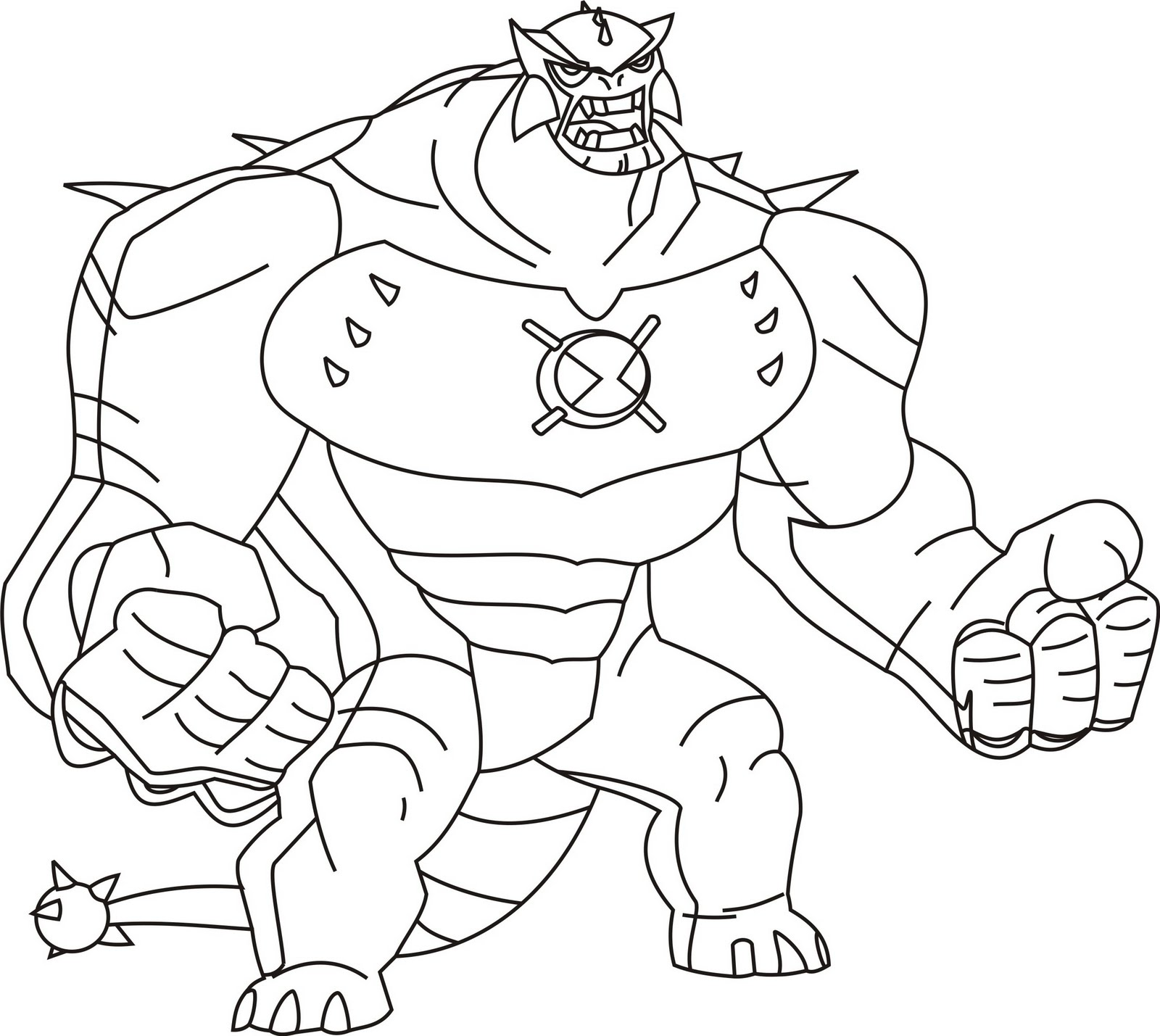 Ben 10 Coloring Pages - Coloring Kids