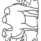 Camels-coloring-page-4