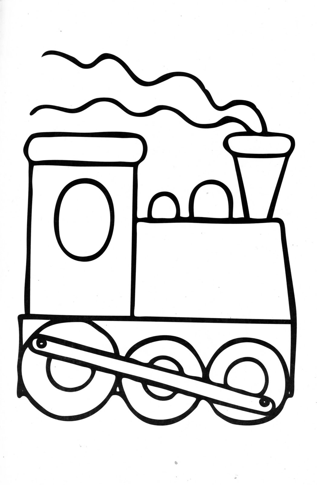 Train coloring pages for toddlers - Childrens Day Coloring Pages