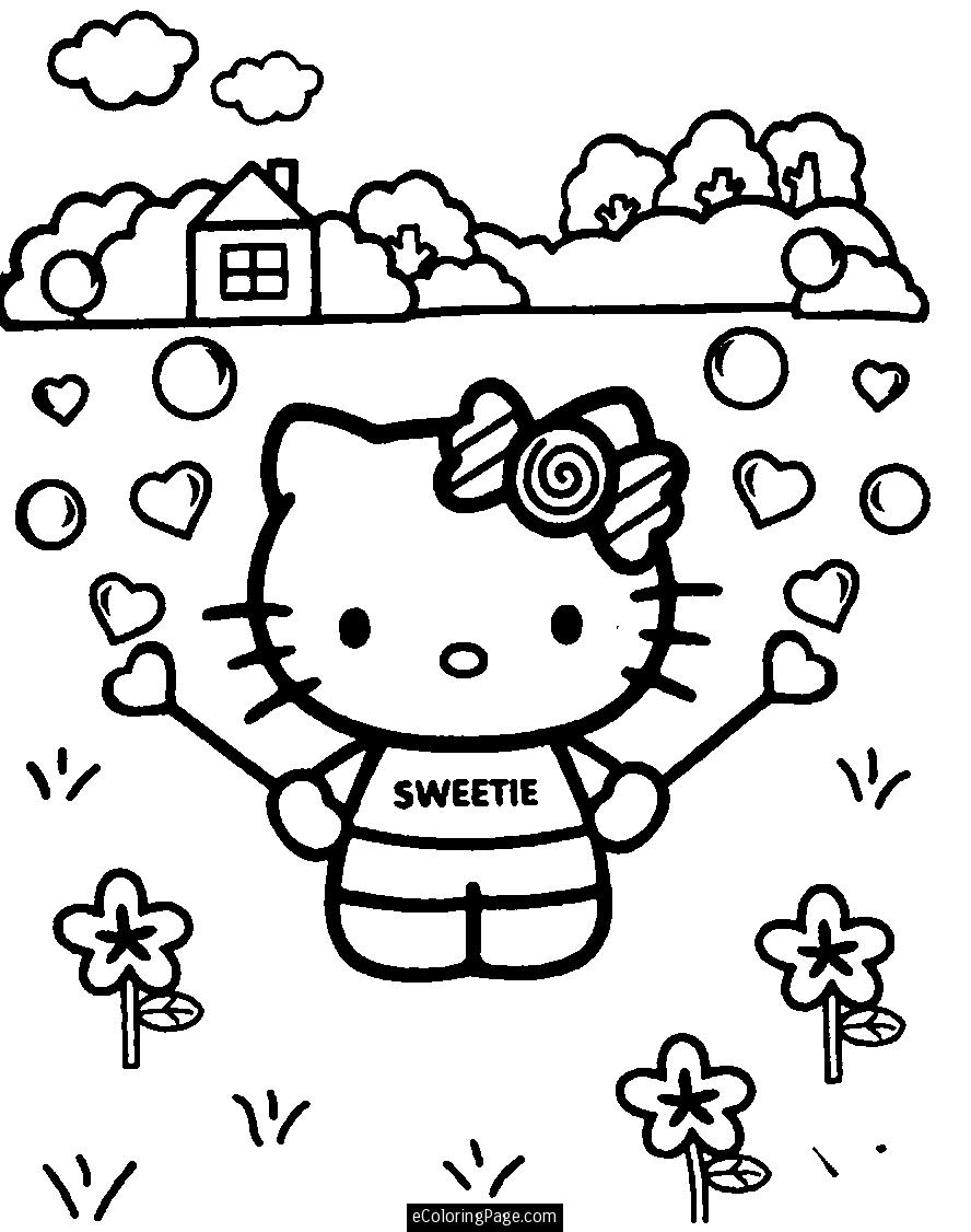 Coloring Pages For Girls (9) | Coloring Kids