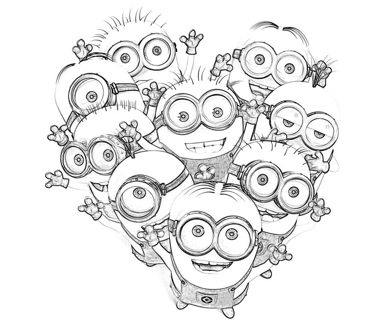 Despicable Me Coloring Pages (5)