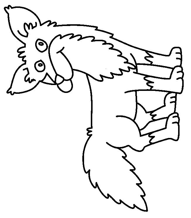 Foxes-coloring-page-4