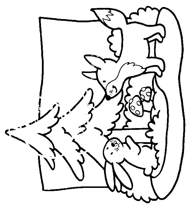 Foxes-coloring-page-6