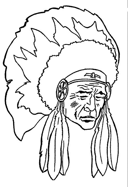 Indians-coloring-page-2