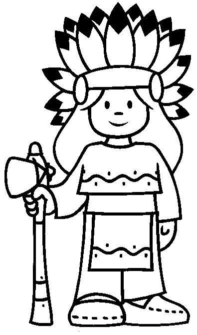 Indians-coloring-page-5