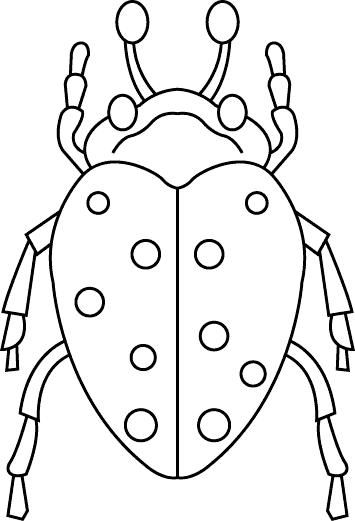 Insects Coloring Page 33 Coloring Kids