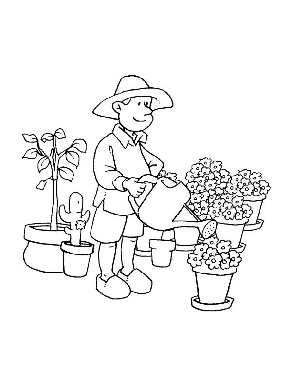 Jobs-coloring-page-16 | Coloring Kids