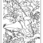 Jungle Coloring Pages 9 140x140 Jungle Coloring Pages