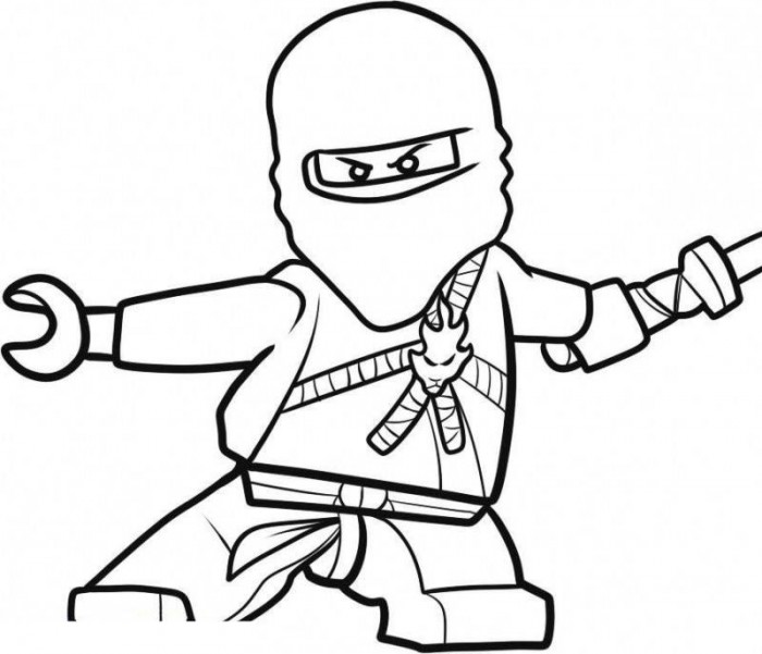 Lego Ninjago Coloring Pages Coloring Kids Printable Pages