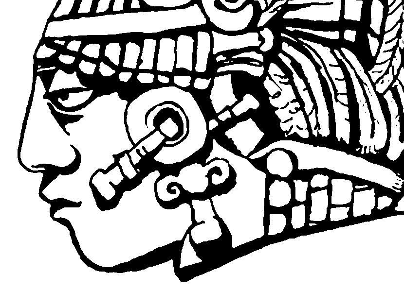 Mayan-Civilization-coloring-page-1