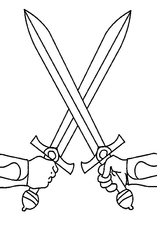 Middle Ages Coloring Page 19 Coloring Kids