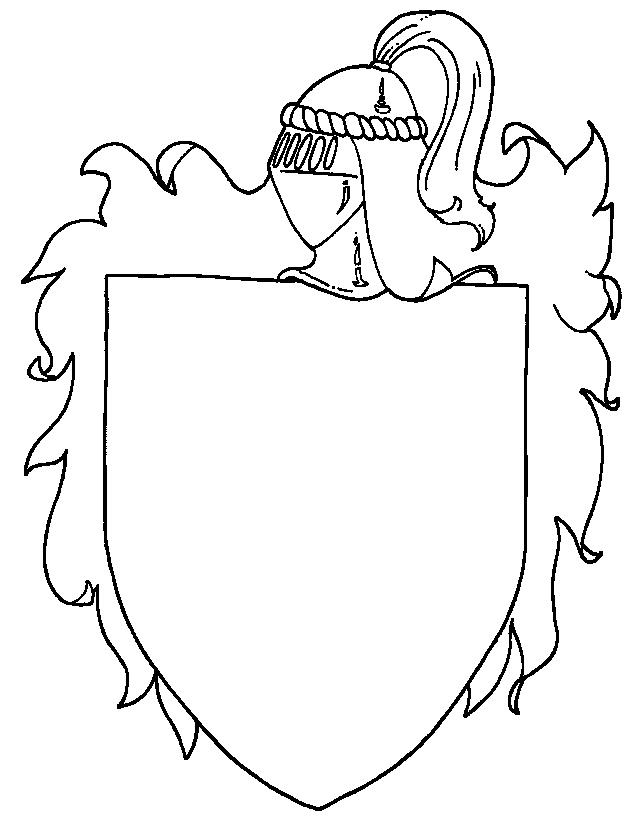 Middle ages coloring page 5 coloring kids for Middle ages coloring pages