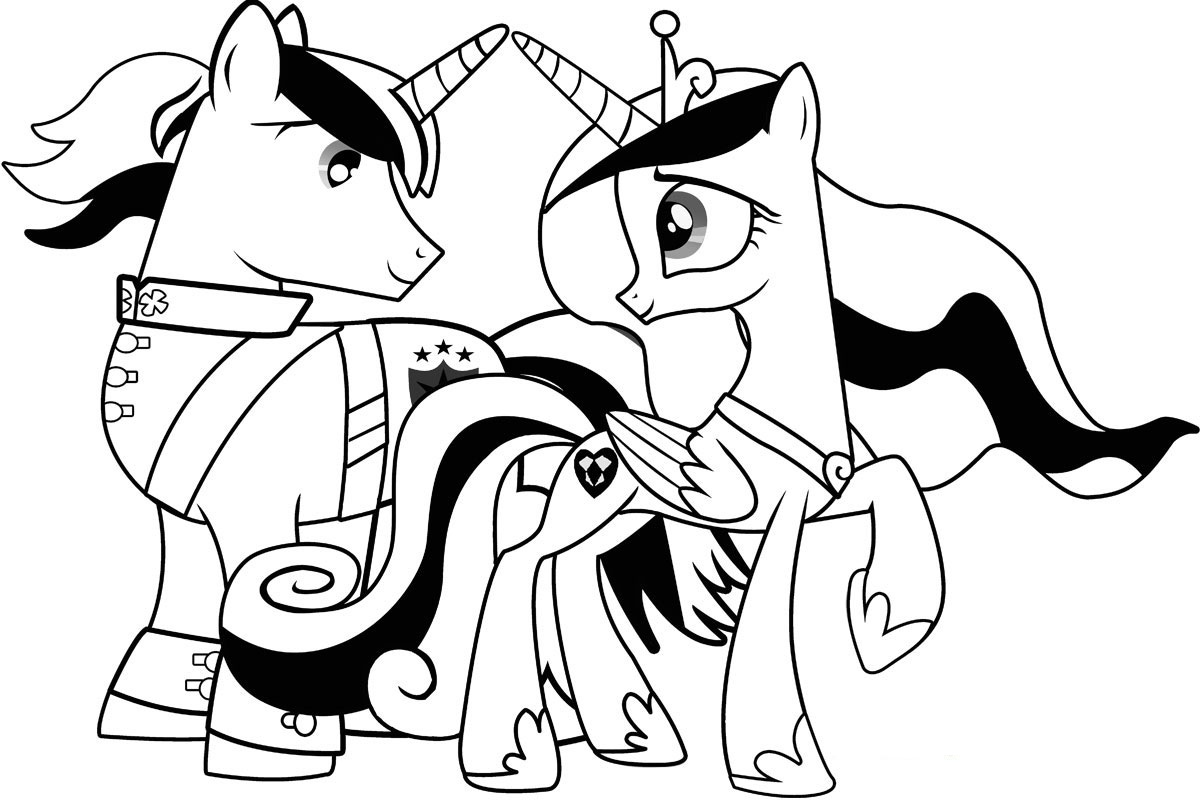 My little pony halloween printable coloring pages