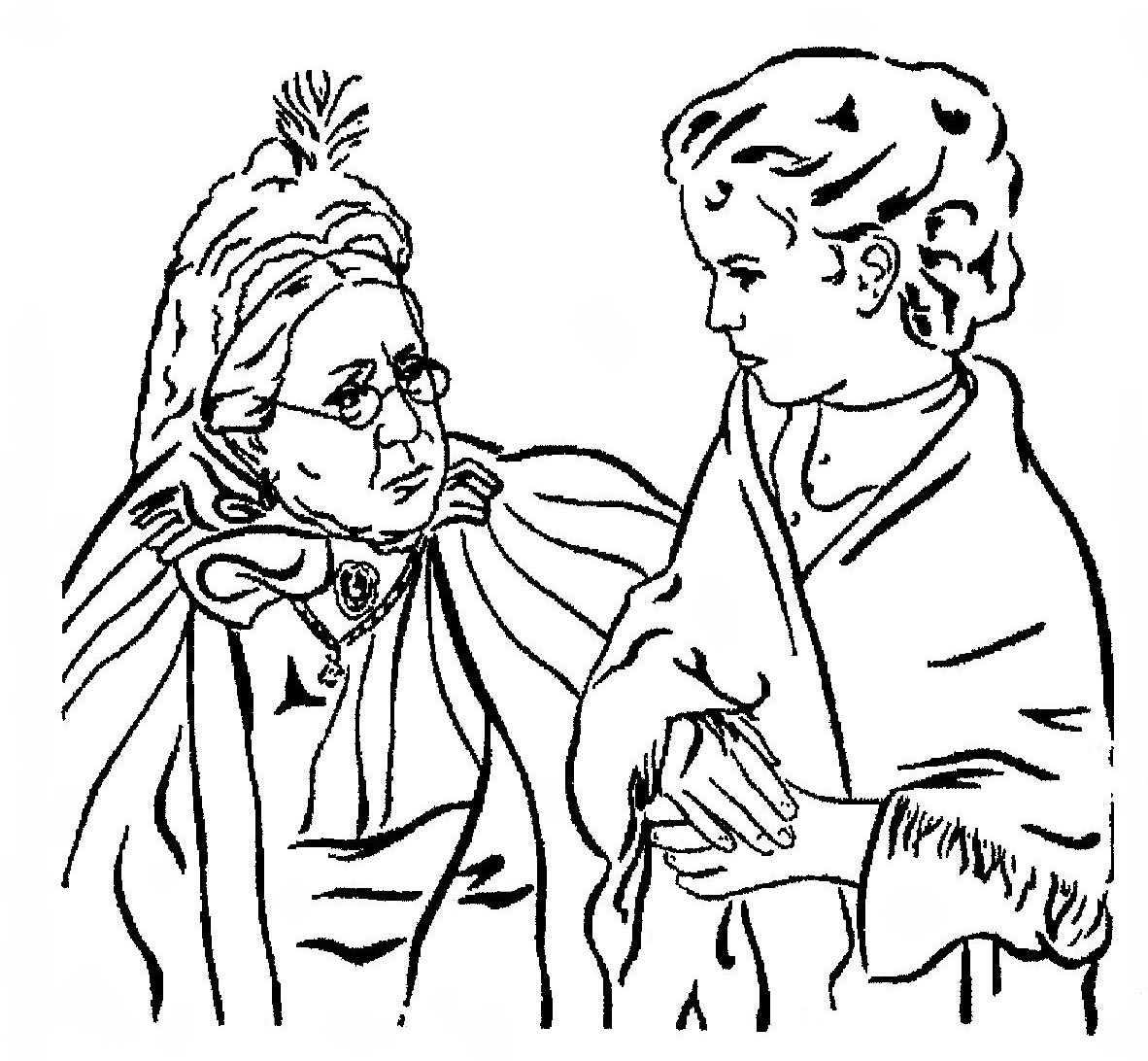 Nativity Coloring Pages | Coloring Kids