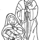 Nativity Coloring Pages