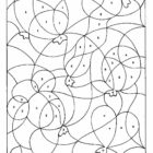 Number Coloring Pages (5)