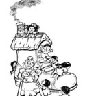 Nursery Rhymes Coloring Pages