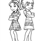 Polly Pocket Coloring Pages (2)