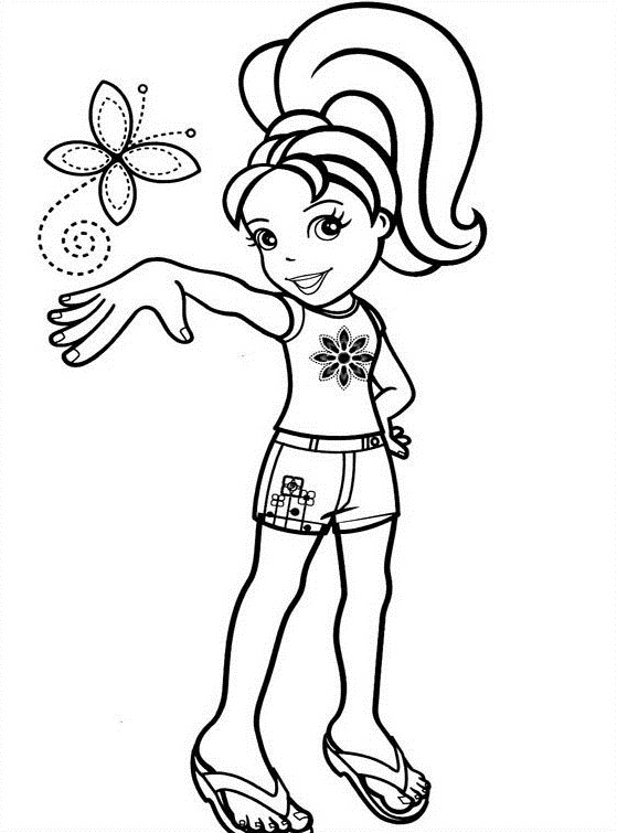 Polly Pocket Coloring Pages (5)