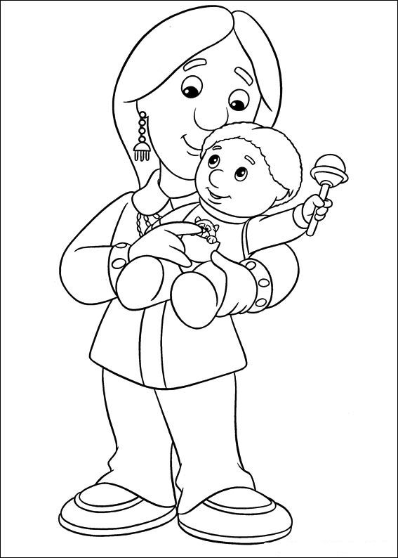 PostmanPatColoringPages1 Coloring