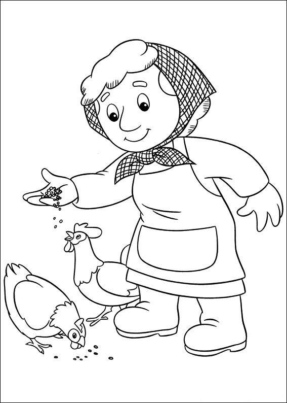 postman pat coloring pages - postman pat coloring pages7 coloring kids