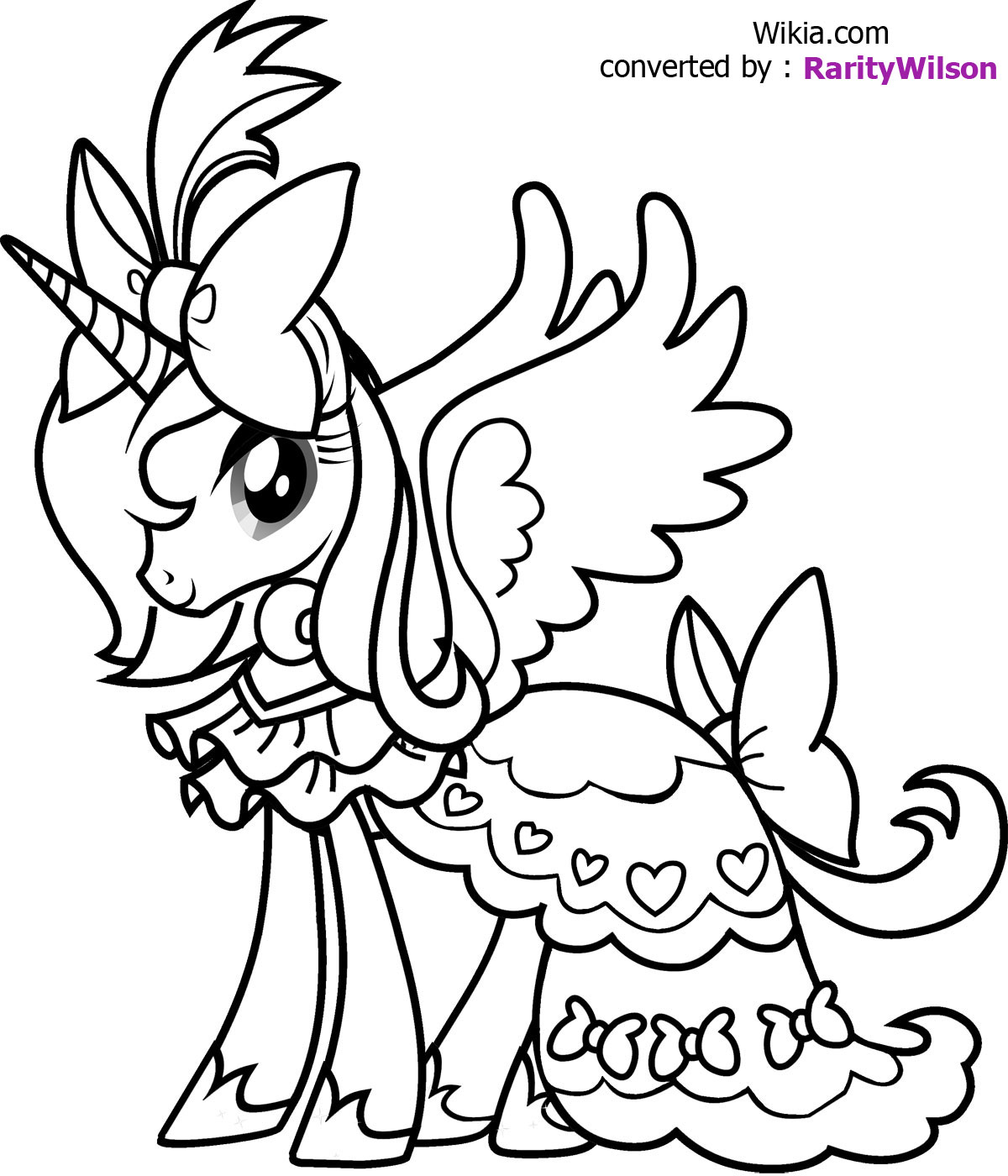 Mlp coloring pages dj pon 3 - My Little Pony Coloring Pages Coloring Kids