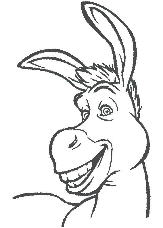 Shrek Coloring Pages Coloring Kids