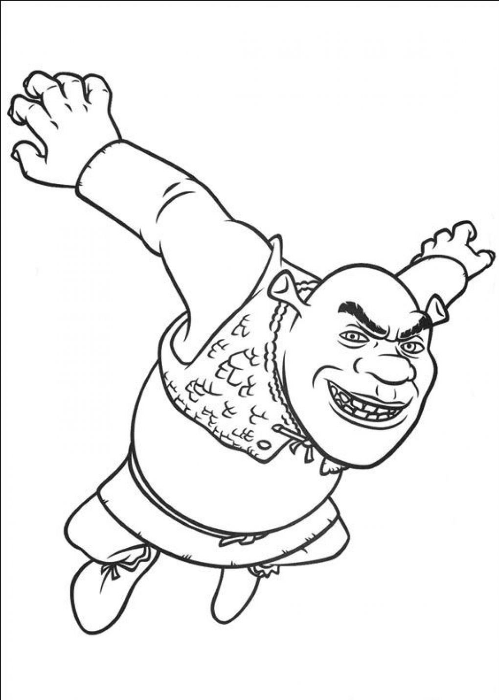 Shrek Coloring Pages Shrek Coloring Pages  Coloring Kids