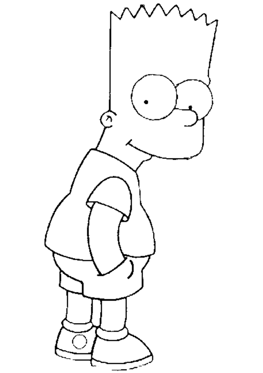 Simpsons Coloring Pages | Coloring Kids