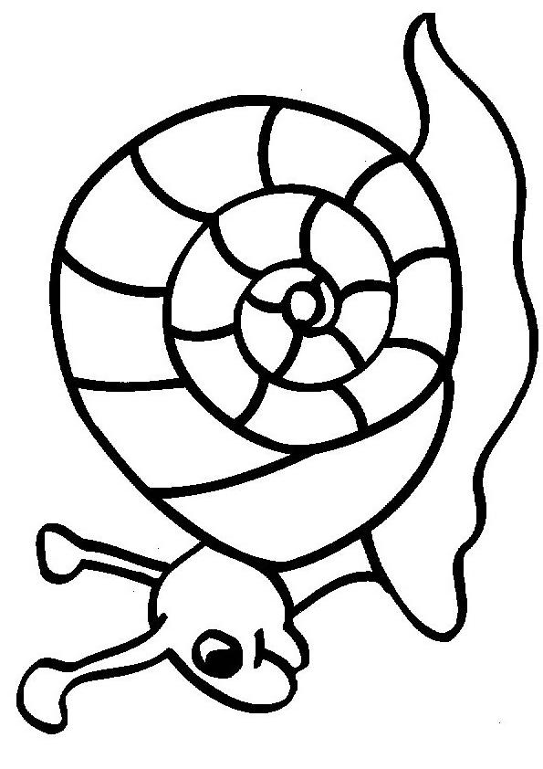 Snails-coloring-page-10 | Coloring Kids