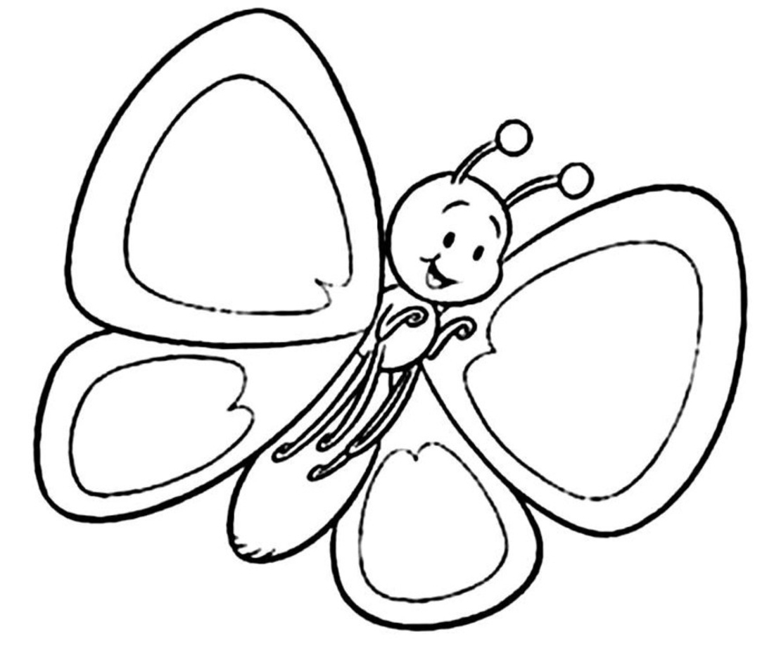 spring coloring pages - Color In Pictures For Kids