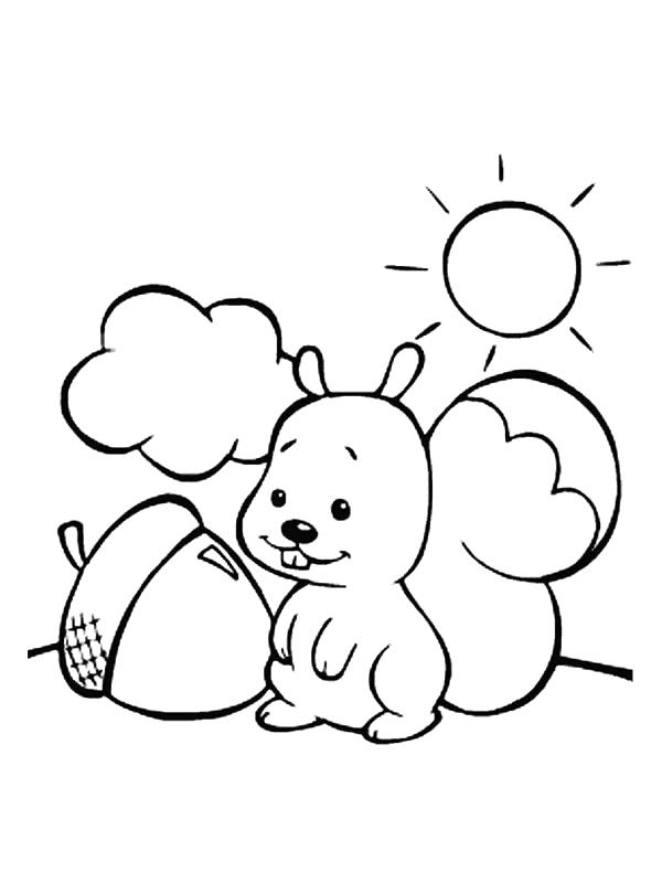 Squirrels-coloring-page-2   Coloring Kids