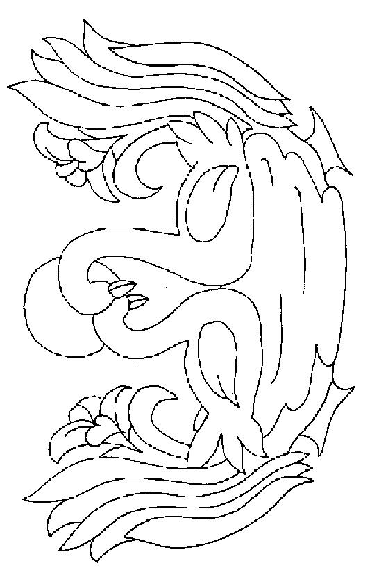 Swans-coloring-page-4