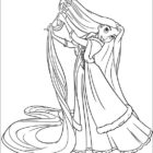 Tangled Coloring Pages (4)