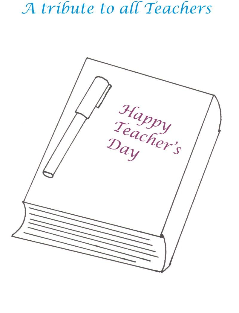 Teacher 39 s Day Coloring pages