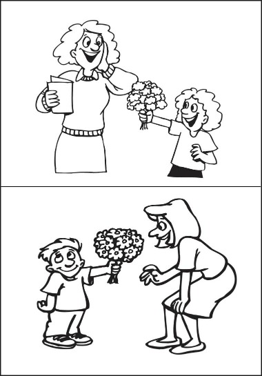 Coloring Pages For Your Teacher : Teacher s day coloring pages kids