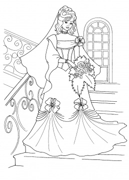 Wedding Coloring Pages (5) | Coloring Kids