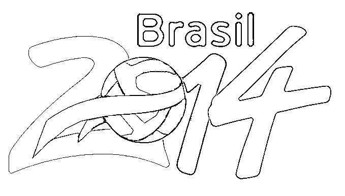 World Cup 2014 Colouring Pages World Cup Coloring Pages