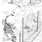 Zoo Coloring Pages 7 140x140 Zoo Coloring Pages
